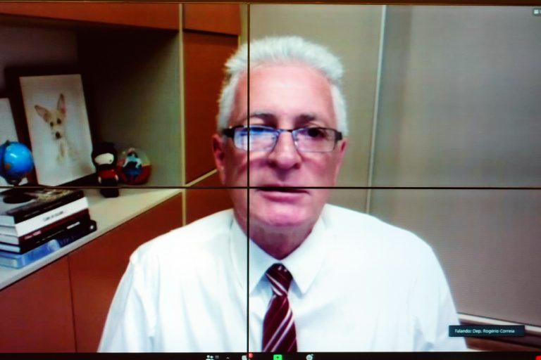Audiência Pública - Vacinação urgente e prioritária dos profissionais da educação e estudantes da rede pública para garantir o retorno seguro das aulas no Brasil. Dep. Rogério Correia(PT - MG)