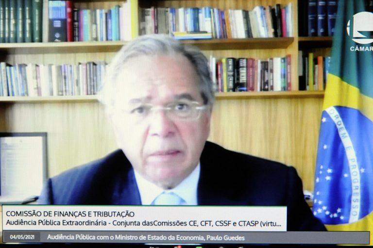 Audiência Pública Conjunta. Ministro de Estado da Economia, Paulo Guedes