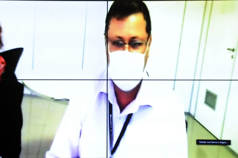 Ângelo Gonçalves, do Ministério da Saúde, defendeu a teleconsulta
