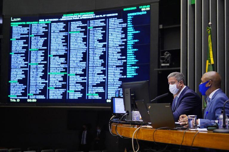 Discussão e votação de propostas. Presidente da Câmara, dep. Arthur Lira (PP - AL)