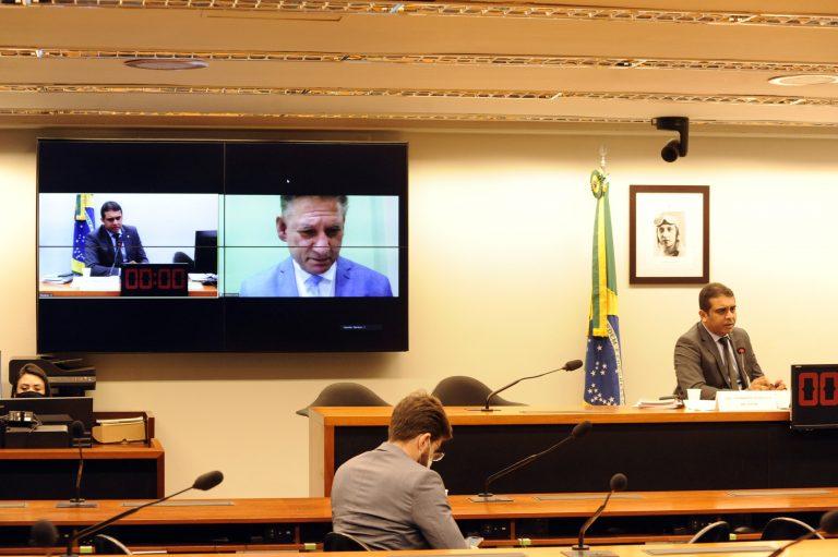 Reunião de oitivas. Testemunha, Hebert Cohn e dep. Fernando Rodolfo (PL - PE)