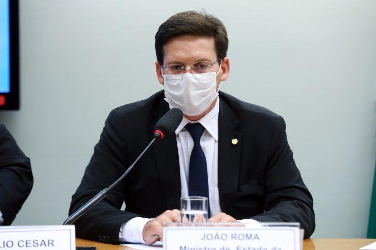 Apresentação de propostas das pastas e a pauta de trabalho para 2021. Ministro de Estado da Cidadania, João Roma