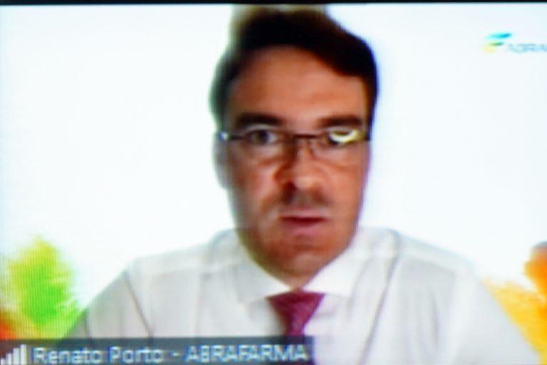 Audiência Pública - Debater Prescrição médica eletrônica. Diretor-executivo de Relações Institucionais(ABRAFARMA), Renato Alencar Porto