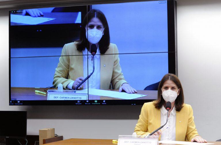 Audiência Pública - A Pandemia da COVID-19 no Brasil sob a perspectiva dos Leitos de UTI. Dep. Carmen Zanotto (CIDADANIA - SC)