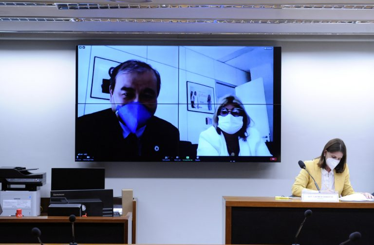 Audiência Pública - A Pandemia da COVID-19 no Brasil sob a perspectiva dos Leitos de UTI. Secretário de Atenção Especializada à Saúde - SAES Ministério da Saúde, Sergio Yoshimasa Okane