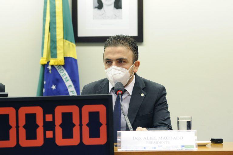 Deputado Aliel Machado (PSB-PR)
