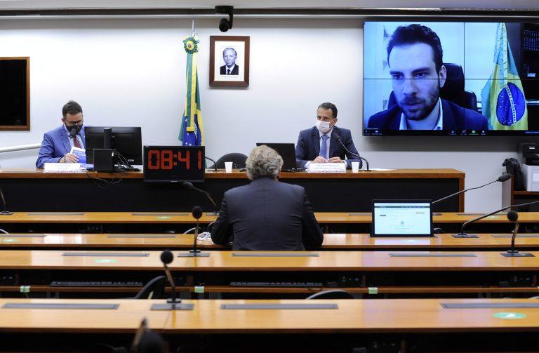 Audiência Pública - Debater a Medida Provisória nº 1.040 de 2021. Secretário Especial do Ministério da Economia, Geanluca Lorenzon