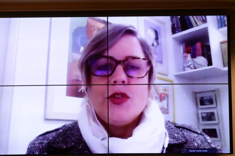 Audiência pública - Os impactos da pandemia na vida e na saúde de pessoas com TEA. Comissão de Defesa dos Direitos dos Autistas da OAB/SP-Subseção Santo Amaro e Elaboradora da Cartilha dos Direitos dos Autista, Camilla Varella