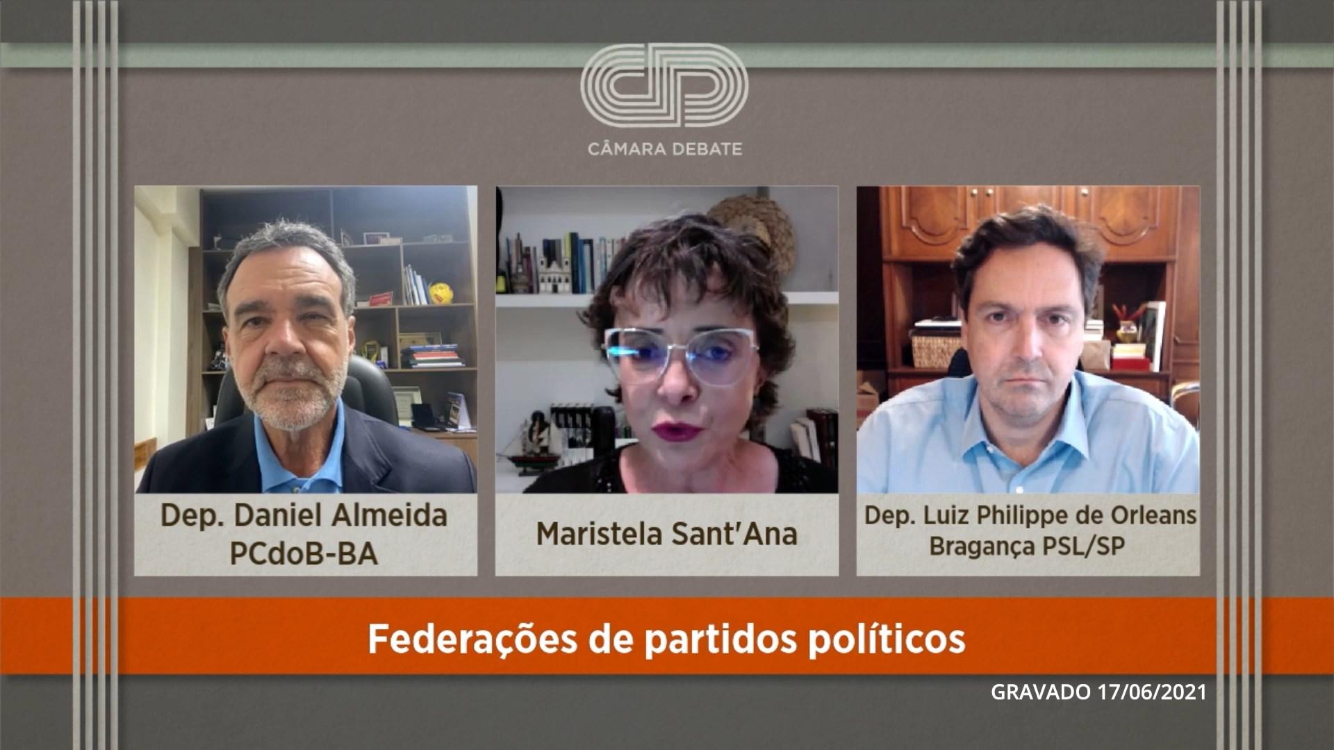 Federações de partidos políticos