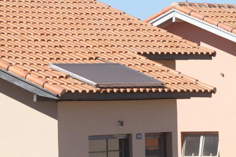 Energia - renováveis - aquecedor solar (residência em Batatais-SP)
