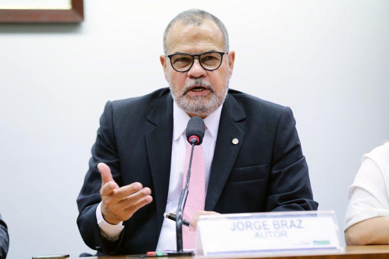 Audiência pública sobre a proteção de dados no Brasil. Dep. Jorge Braz (PRB-RJ)