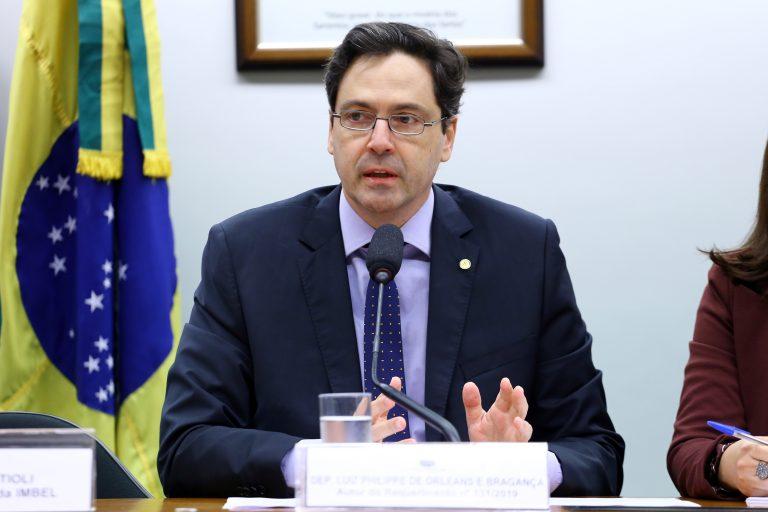 Orleans e Bragança apoiou a redução da taxa menor para agentes