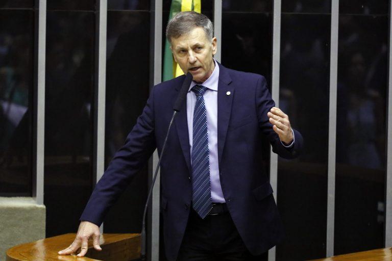 Deputado Luizão Goulart discursa no Plenário da Câmara