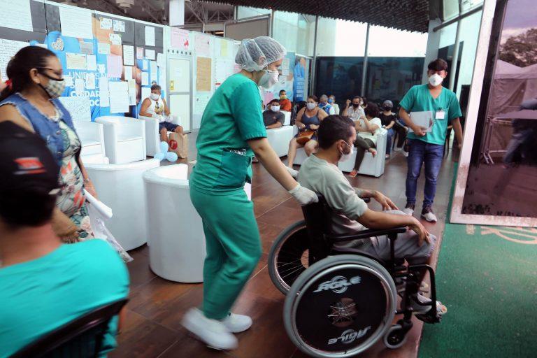 Saúde - coronavírus - pandemia - covid-19 - Hospital de Campanha dá alta a 36 pacientes, o maior número de recuperados no mesmo dia