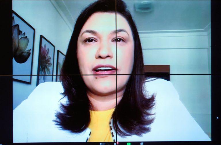 Reunião deliberativa. Dep. Maria Rosas (REPUBLICANOS - SP)