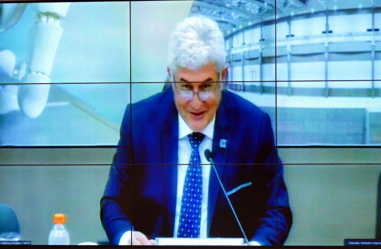 Reunião Extraordinária. Ministro de Estado da Ciência, Tecnologia e Inovações, Marcos Cesar Pontes