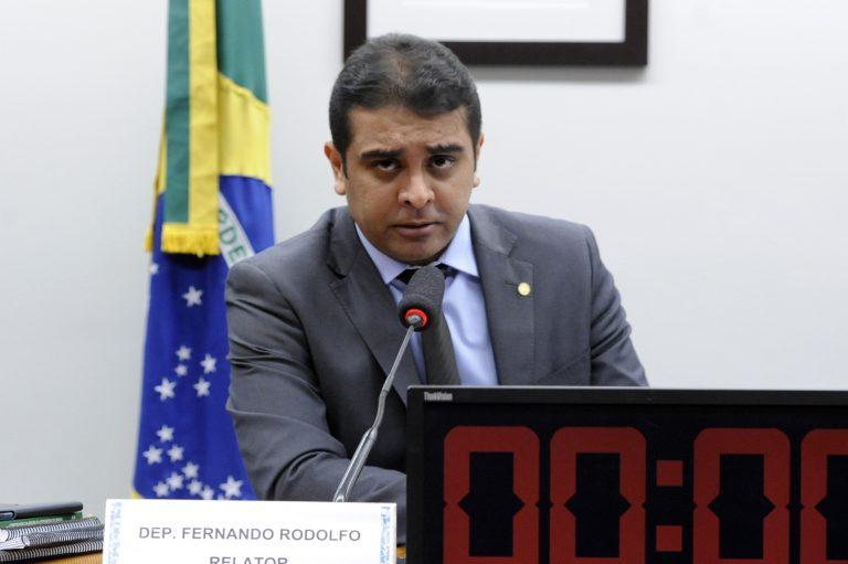 Fernando Rodolfo em reunião do conselho de ética