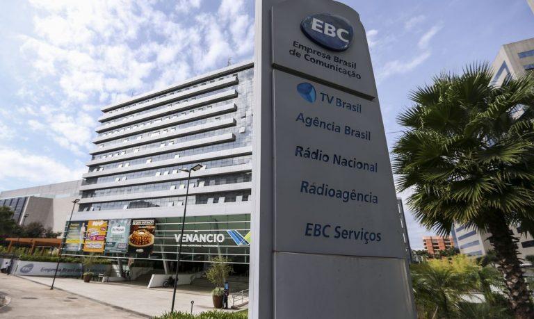 Brasília - geral - Fachada da empresa Brasil de Comunicação - EBC
