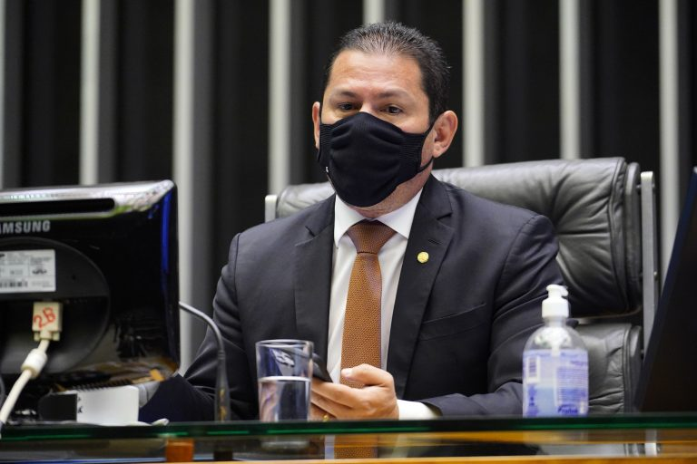 Deliberação de Vetos e Projetos de Lei. Vice-presidente da Câmara, dep. Marcelo Ramos PL - AM