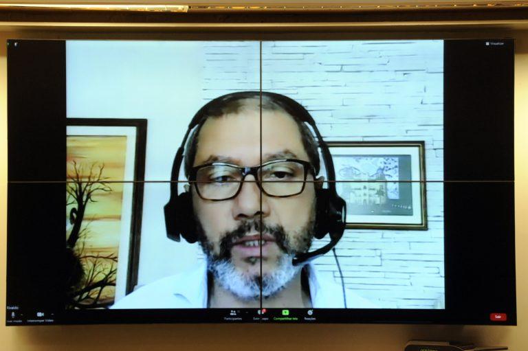 Audiência Pública - A Nova Cepa Indiana do Coronavírus no Brasil. Coordenador de Vigilância em Saúde e Laboratórios de Referência - FIOCRUZ, Rivaldo Venâncio