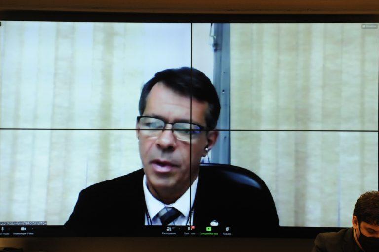Paulo Silva Pena: governo federal repassou R$ 311 milhões para assistência psicológica de policiais
