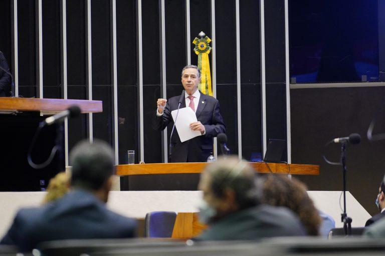 Ministro Barroso fala na comissão geral
