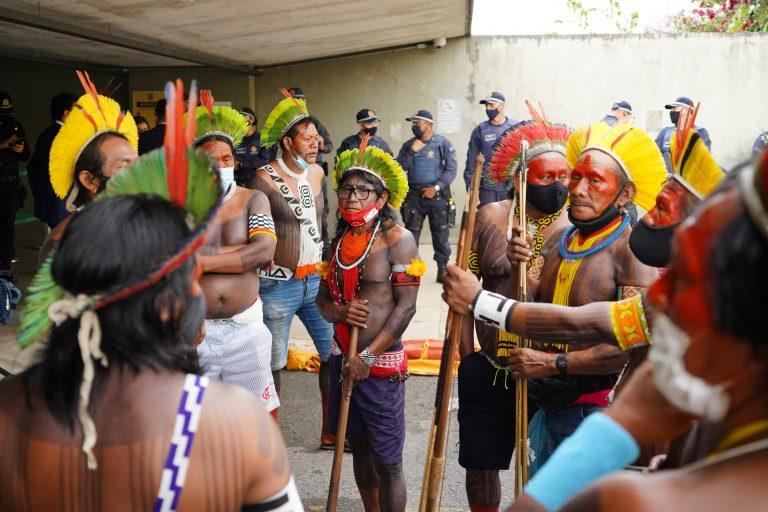 Lideranças Indígenas em Brasília para conversar com autoridades