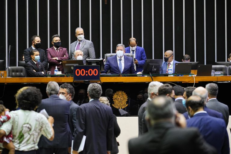 Discussão e votação de propostas. Presidente da Câmara, Arthur Lira PP - AL
