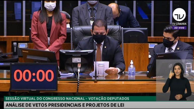 Deputado Marcelo Ramos preside sessão do Congresso Nacional