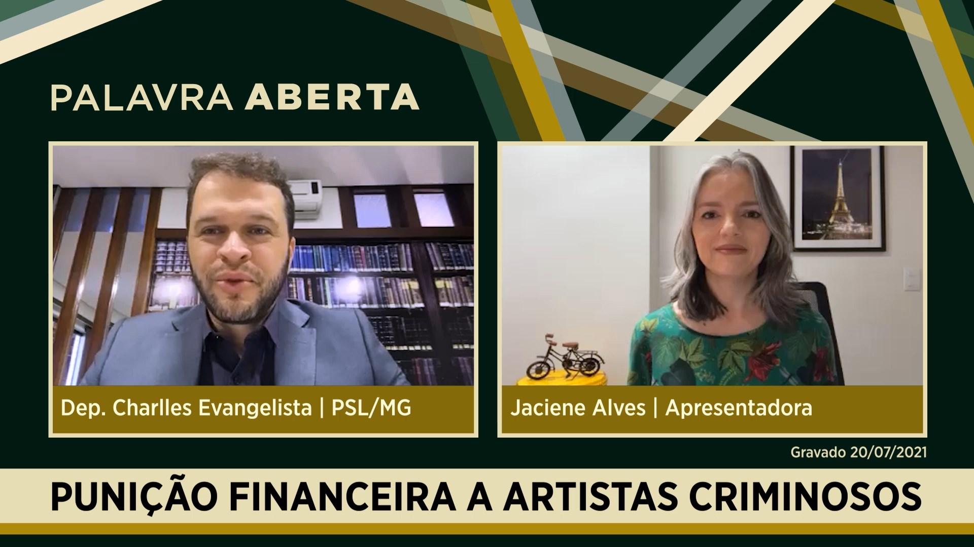 Punição financeira a artistas criminosos