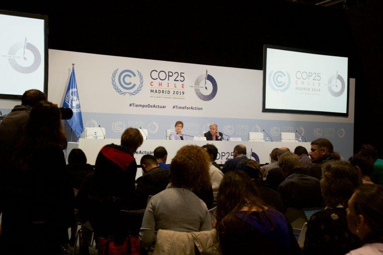 Meio Ambiente - clima - COP 25 conferência ONU mudanças climáticas