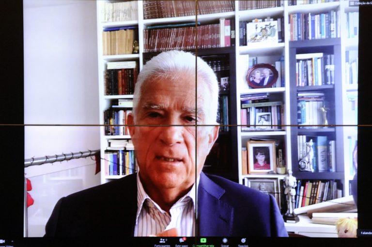 Deputado Rubens Bueno participa de reunião on-line