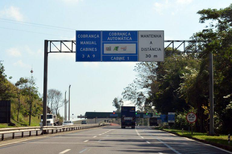 Pedágio será mais barato para quem percorrer trechos mais curtos das rodovias