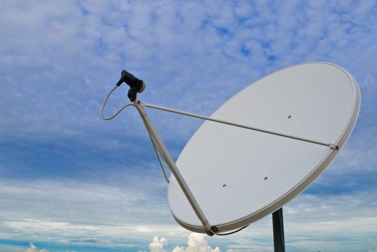 Antena de satélite para internet