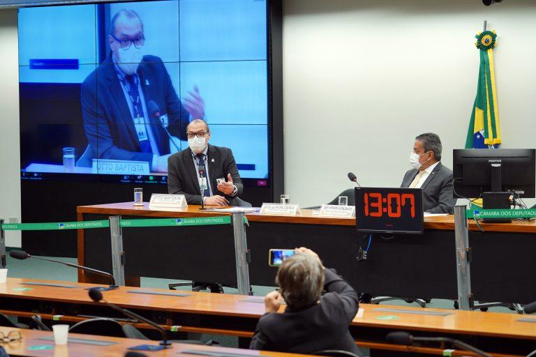 Audiência Pública - Debater Sobre Modelos de Contratualização na Saúde Suplementar. Vice- Presidente da Federação Nacional dos Médicos (FENAM), Otto Baptista