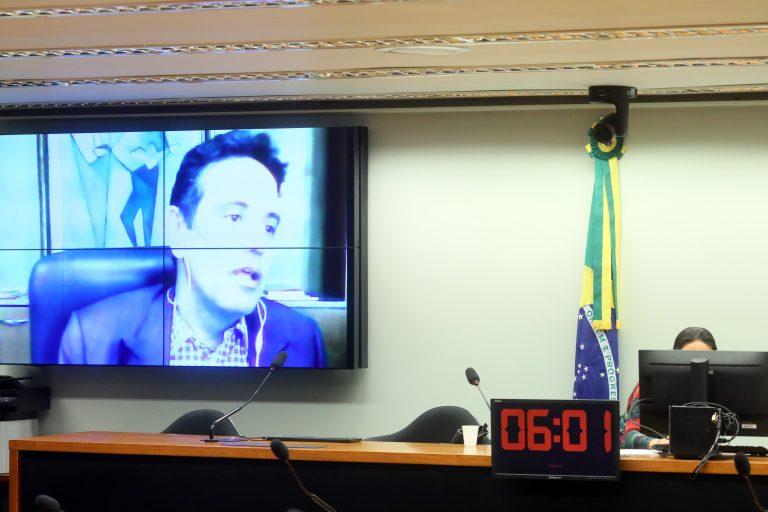 Presidente do INSS, Leonardo Rolim, participa da audiência