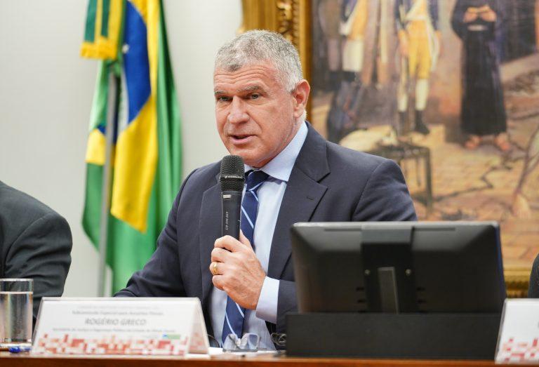 Audiência Pública – Discussão sobre a parte geral do Código Penal. Secretário de Estado de Justiça e Segurança Pública de Minas Gerais, Rogerio Greco
