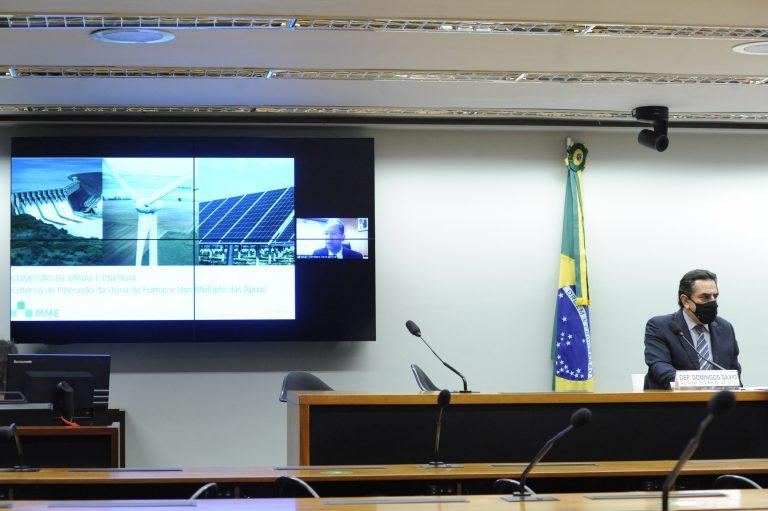 Audiência Pública - Critérios de operação da usina de Furnas e uso múltiplo das águas. Secretário de Energia Elétrica, representante do Ministério de Minas e Energia, Christiano Vieira da Silva