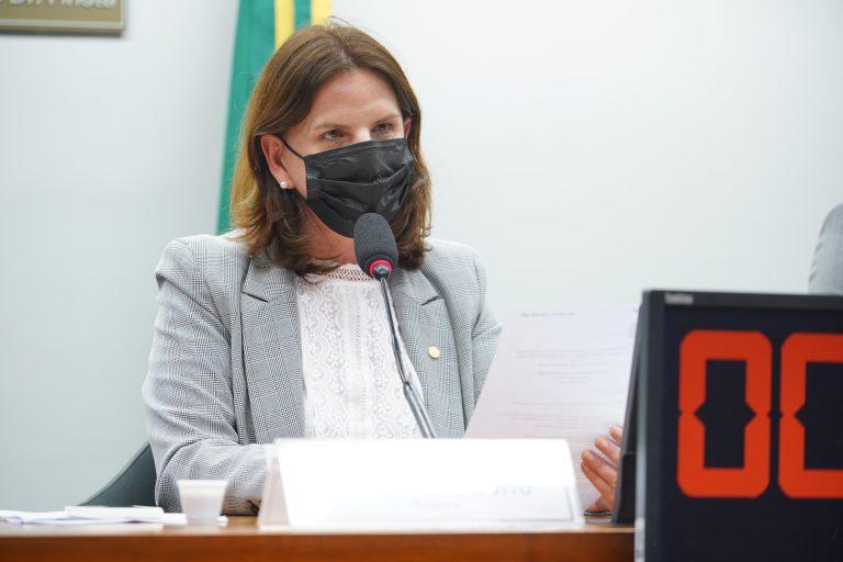 Audiência Pública -Retorno ao trabalho das Gestantes que concluíram o ciclo das vacinas. Dep. Carmen Zanotto CIDADANIA - SC