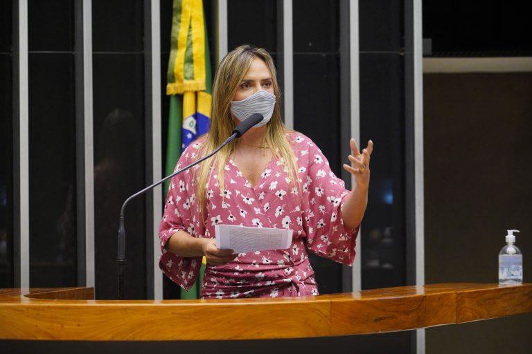 Deputada Celina Leão discursa no Plenário da Câmara