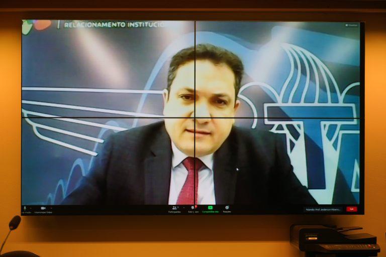Anderson Correia participa de audiência pública virtual