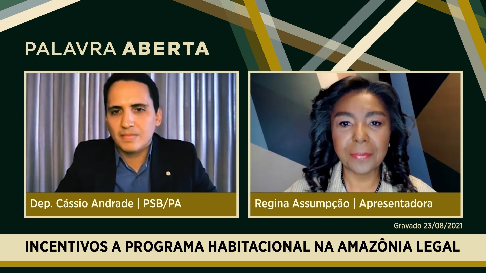 Incentivos para programa habitacional na Amazônia Legal
