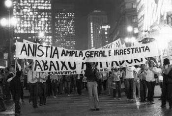 Manifestação pública do Movimento pela Anistia Ampla, Geral e Irrestrita