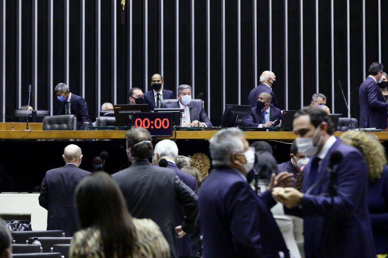 Discussão e votação de propostas. Presidente da Câmara dep. Arthur Lira PP - AL