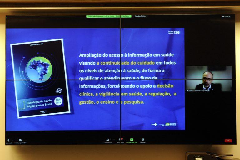 Audiência Pública - A regulamentação da Telemedicina no Brasil e o PL 1998/2020. Ministério da Saúde, Jackson Venancio de Barros