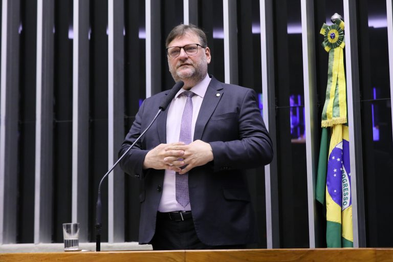 Deputado Paulo Bengtson no Plenário da Câmara