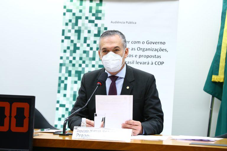 Audiência Pública para debater com o Governo os projetos que o Brasil levará à COP 26. Dep. Zé SilvaSOLIDARIEDADE - MG