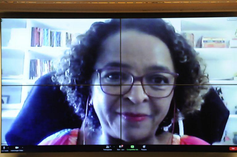 Audiência Pública - *Impactos da COVID-19 na comunidade negra. Co-Fundadora da Coordenação Nacional das Comunidades Negras Rurais Quilombolas (CONAQ), Givânia Maria da Silva
