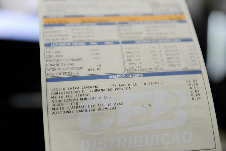 Economia - consumidor - conta de luz abastecimento energia elétrica eletricidade tarifas