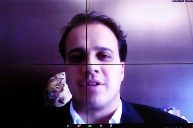 Coordenador da Frente Parlamentar de Prevenção ao Suicídio e à Automutilação da Câmara, Lucas Gonzalez